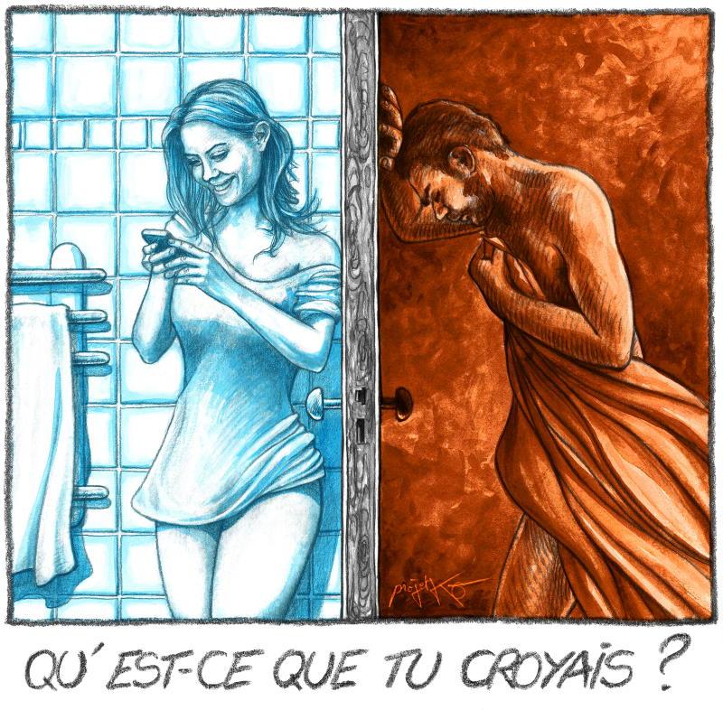 «Dating» permanent, ou comment devient-on misogyne… – Par ProjetKO – Un bon dessin…
