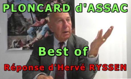 Ploncard d'Assac Best of – Hervé Ryssen (vidéo)