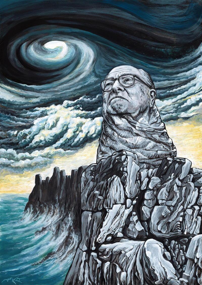 Jean-Marie Le Pen, portrait – Par ProjetKO – Un bon dessin…