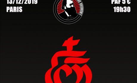 Histoire et identité – Cercle Drumont – 13 décembre 2019