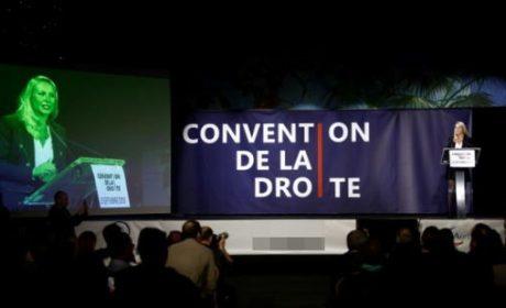 Marion et la convention de la droite kasher