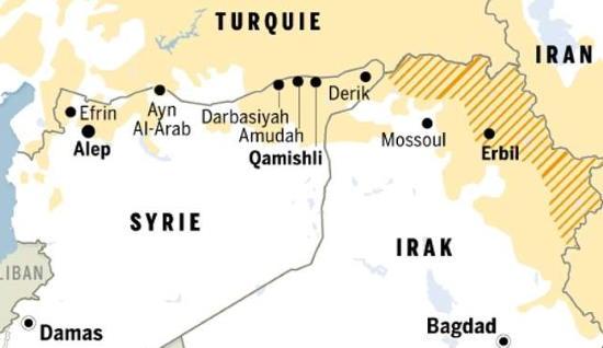 Syrie : La Jezireh, convoitée par la force kurde, menacée par la Turquie – SOS Chrétiens d'Orient (vidéo)