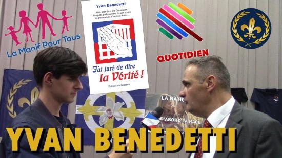 Yvan Benedetti répond à Quotidien (vidéo)