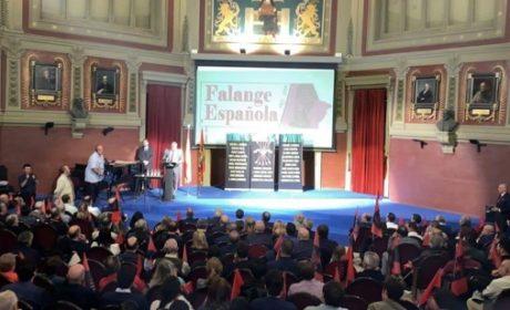Commémoration unitaire du 86e anniversaire de la «Falange Española de las Jons» (vidéos)