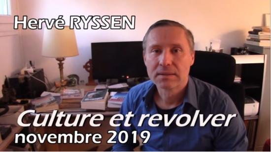 Culture et révolver III – Hervé Ryssen (vidéo)