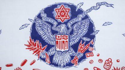 Nouvelles fresques anti-impérialisme Yankee à Téhéran
