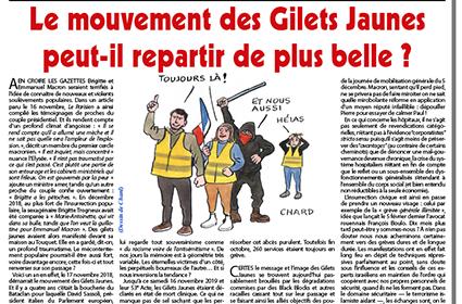Le mouvement des Gilets Jaunes peut-il repartir de plus belle?