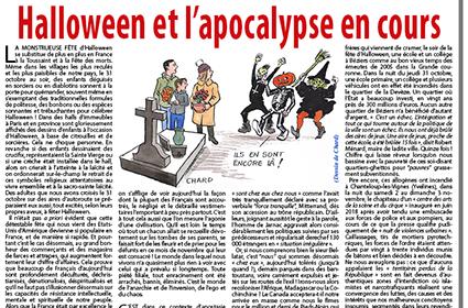 Halloween et l'apocalypse en cours