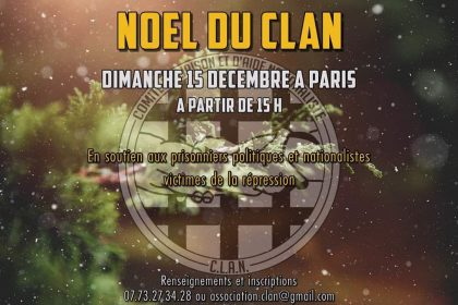 Noël du C.L.A.N. – 15 décembre 2019 – Paris