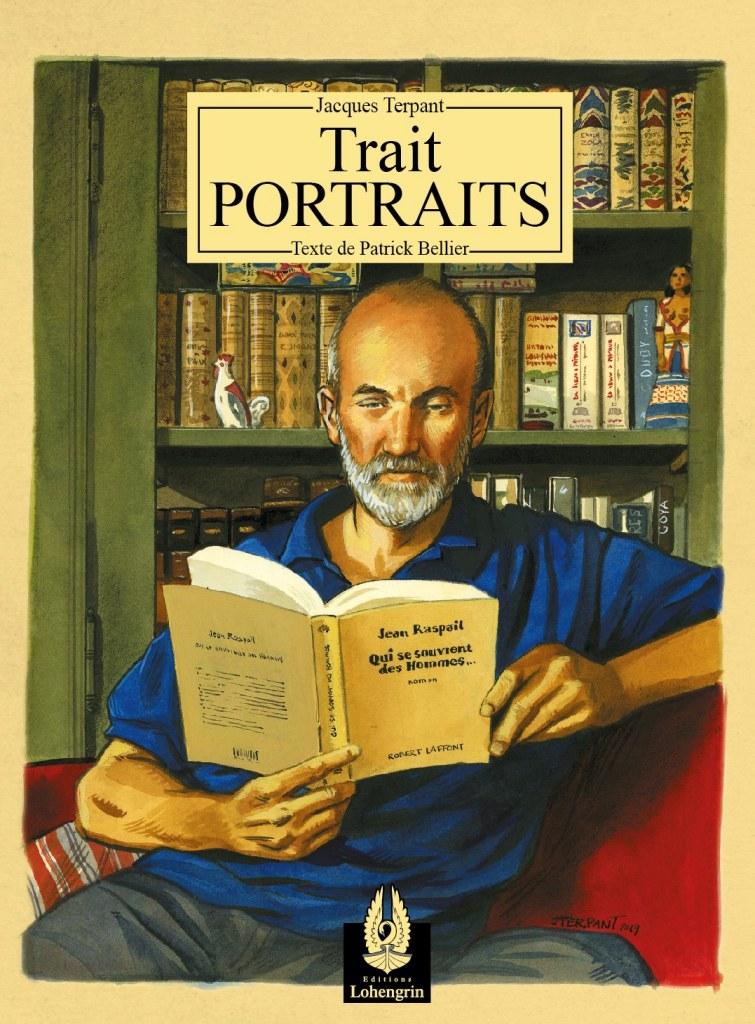 Nouveauté : Trait-Portraits – Jacques Terpant