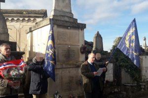 Hommage à Pierre Lespinasse et repas d'amitié nationaliste à Toulouse (vidéo et photos)