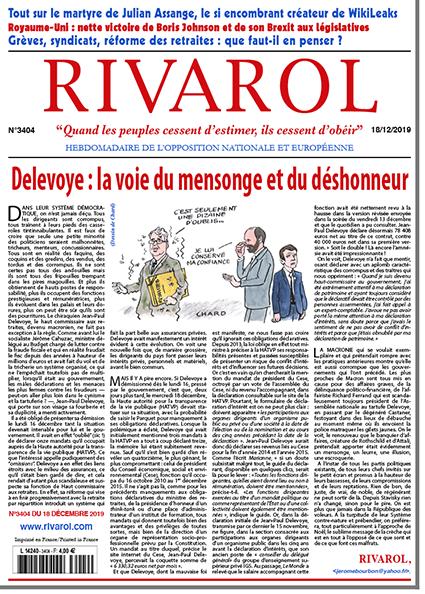 Delevoye : la voie du mensonge et du déshonneur
