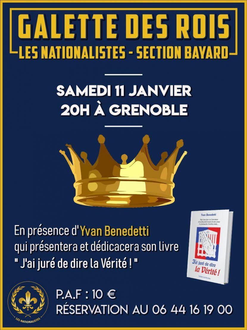 Galette des rois nationaliste – Grenoble – Samedi 11 janvier 2020