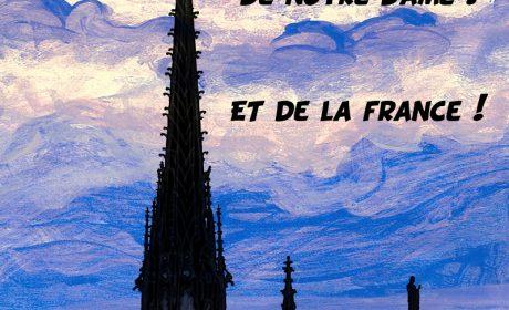 Notre-Dame : en 2020, osons la reconstruction à l'identique – ProjetKO – Un bon dessin…