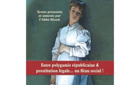 Nouveauté : Du divorce – Louis de Bonald – Présenté par l'abbé Rioult