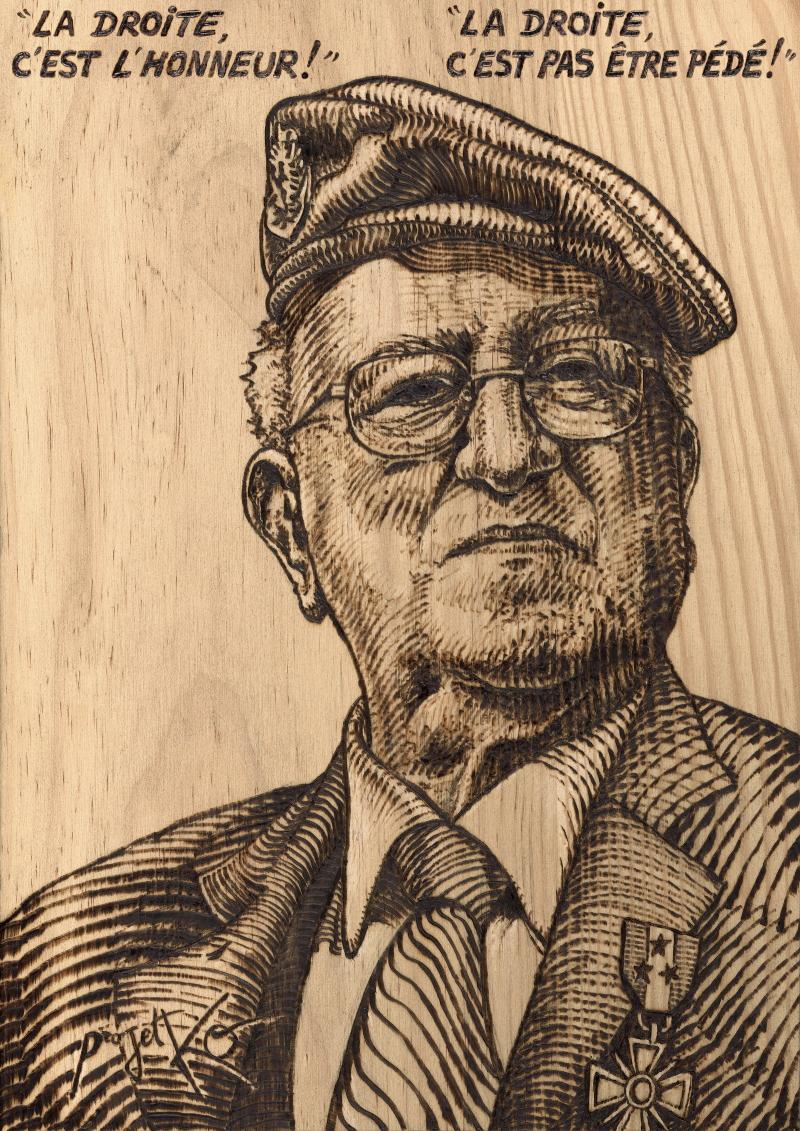 Hommage à l'infatigable militant et combattant anticommuniste : Roger Holeindre – ProjetKO – Un bon dessin…