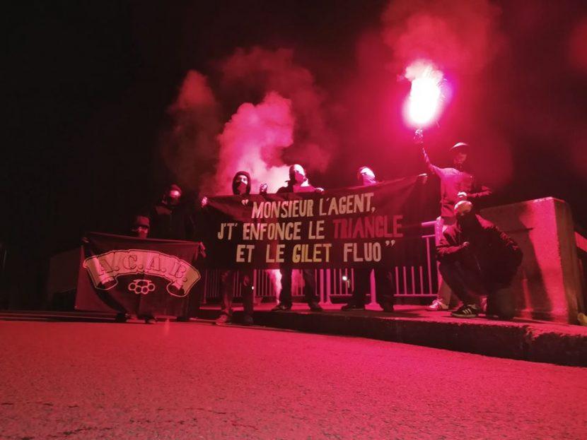 ACP Bordeaux Nationaliste 10/01/2020 : Stop aux violences policières !