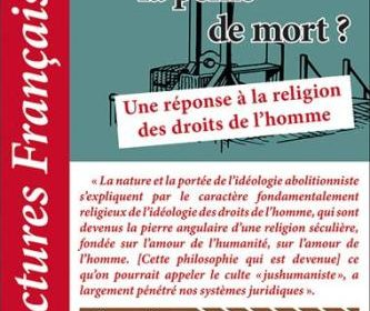 Nouveauté : Lectures Françaises – Février 2020 – Faut-il rétablir la peine de mort ?