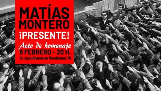 Délégation française à Madrid pour l'hommage phalangiste à Matias Montéro (photos + vidéo)