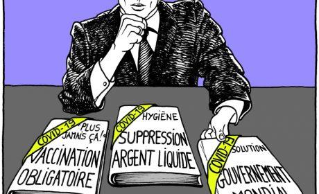 Macron en guerre… contre le peuple ! – ProjetKO – Un bon dessin…