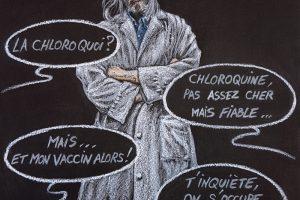 Polémique pro-anti Chloroquine - ProjetKO - Un bon dessin...