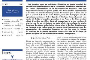Nouveauté : Faits & Documents n°477 - Les familles Pinto et Pisar
