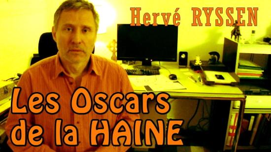Les Oscars de la haine – Hervé Ryssen (vidéo)