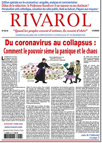 Du coronavirus au collapsus : comment le pouvoir sème la panique et le chaos