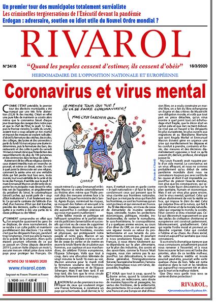 Coronavirus et virus mental