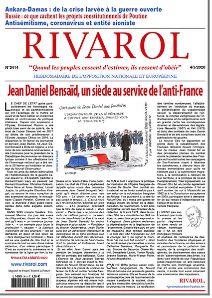Jean Daniel Bensaïd, un siècle au service de l'anti-France