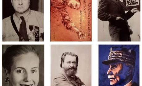 Nouveauté : Cartes postales « Grandes figures du nationalisme »