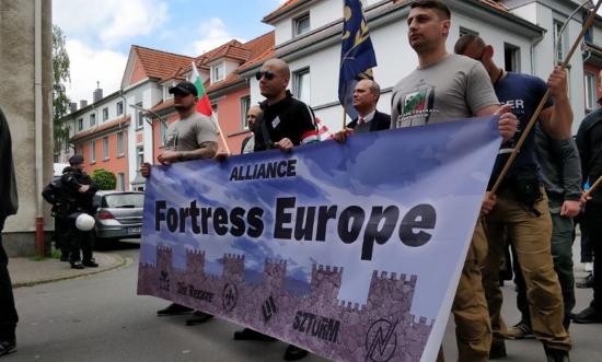 Premier anniversaire de l'Alliance Forteresse Europe