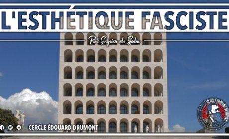 L'esthétique fasciste – Scipion de Salm (audio)