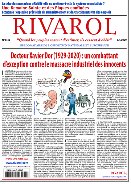 Docteur Xavier Dor (1929-2020) : un combattant  d'exception contre le massacre industriel des innocents