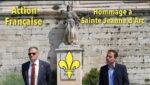 Hommage à Sainte Jeanne d'Arc à Avignon par l'Action Française et Yvan Benedetti (vidéo)