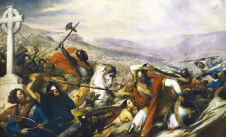 La Bataille de Poitiers 732  (vidéo)